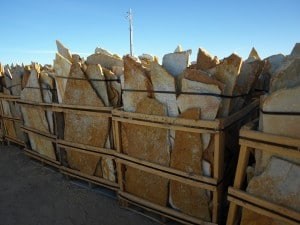 Gold Rush Quartzite Flagstone 1.5″ Thickness