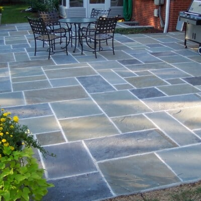 1/2″ Full Color Bluestone Random Pattern