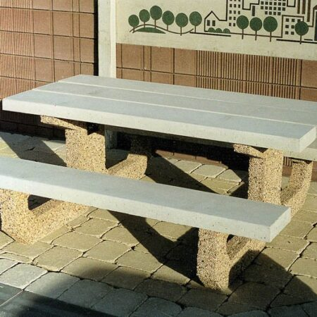 Barkman Rectangular Picnic Table