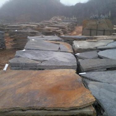 Blue/Brown Flagstone 2″ Thickness