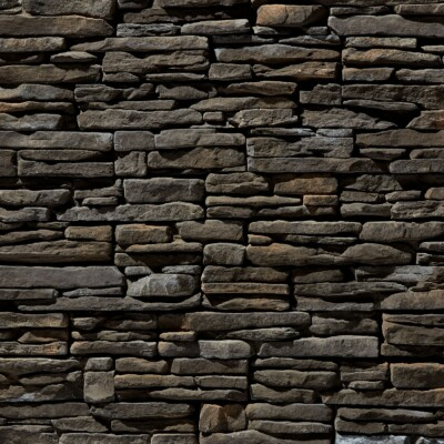 Black Creek Rustic Ledgestone