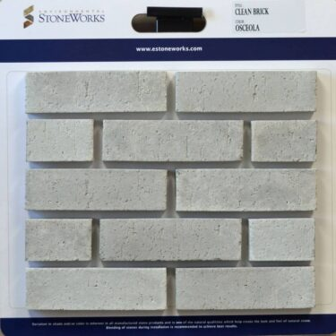 Osceola Clean Brick