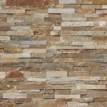 Mountain Rust Ledgestone Panel