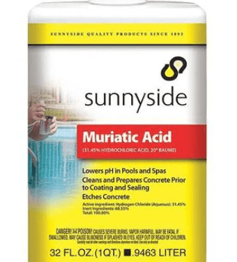 Muriatic Acid Quart