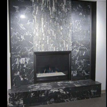 Nero Ledgestone Panel